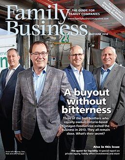 Family Business Magazine MayJune 2018 Cover
